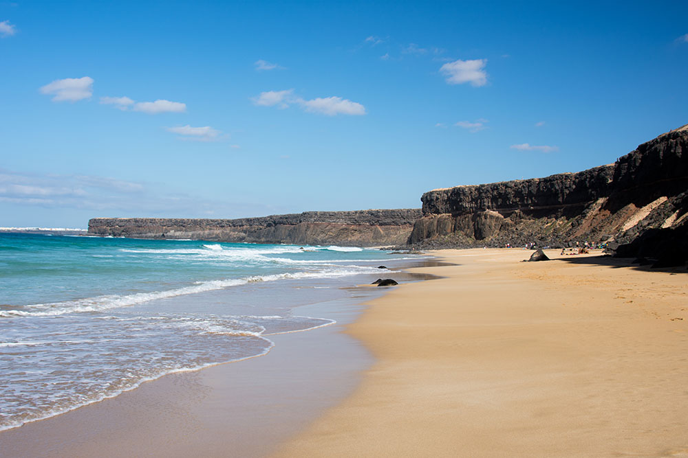 Playa del Águila, en La Oliva | Fuerteventura